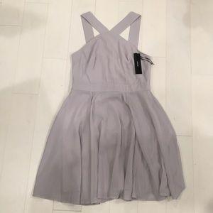 Lulu's short grey dress